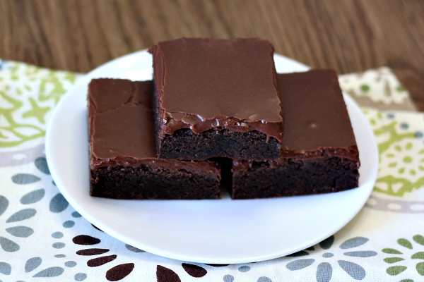 Gluten-free Frosted Chocolate Cookie Bars
