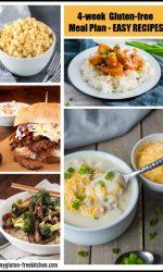 4 week gluten-free meal plan easy dinner ideas