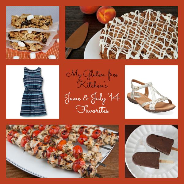 My Gluten-free Kitchen's June and July 2014 Favorites