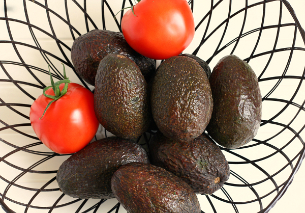 Avacados & Tomatoes - Naturally gluten-free choices!