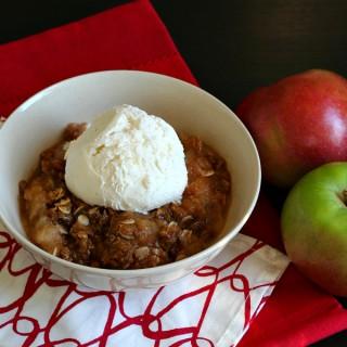 Apple Crisp {Gluten-free}