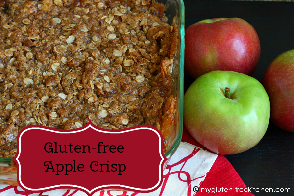 Gluten-free Apple Crisp - My favorite dish to bring to fall potlucks!