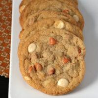 Gluten-free Butterscotch White Chocolate Chip Cookies