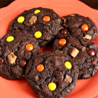 Halloween Candy Cookies {Gluten-free}