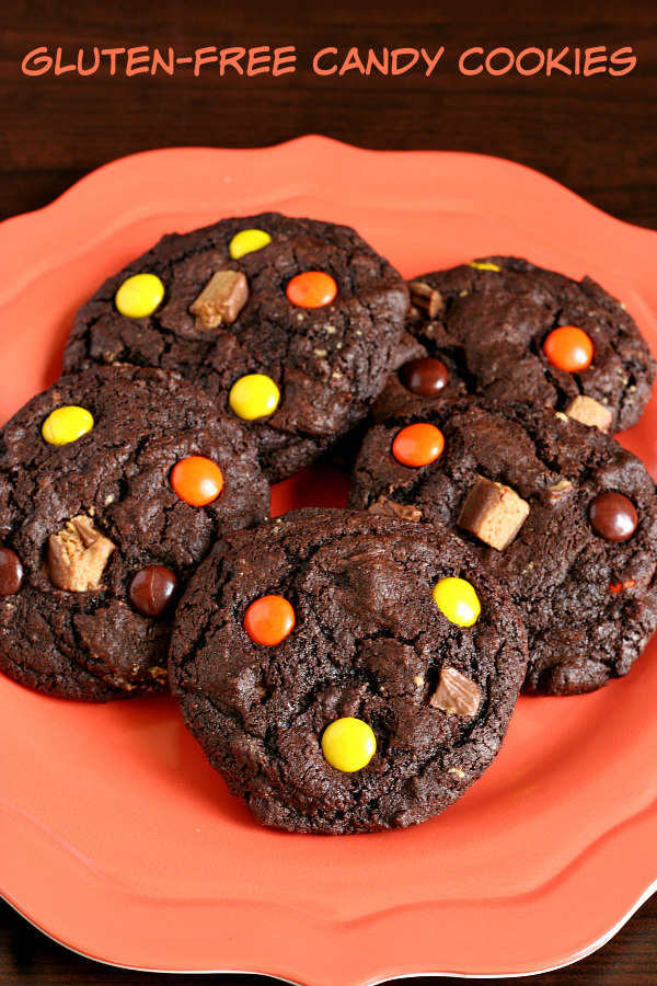 Gluten-free Candy Cookies - Great for after Halloween or any time of year that you want to make them!
