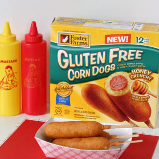 Gluten-free Corn Dogs from Foster Farms Review - My kids LOVED these!