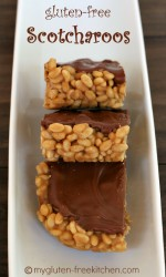 Gluten-free Scotcharoos - Our family favorite no-bake bars!