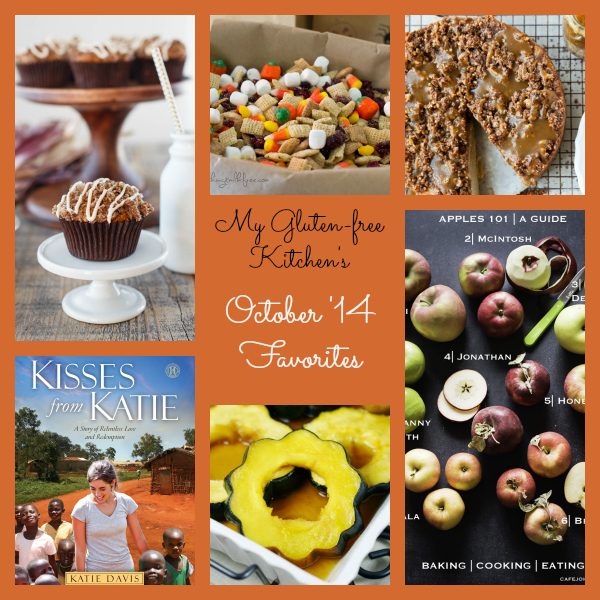 My Gluten-free Kitchen's October 2014 Favorites