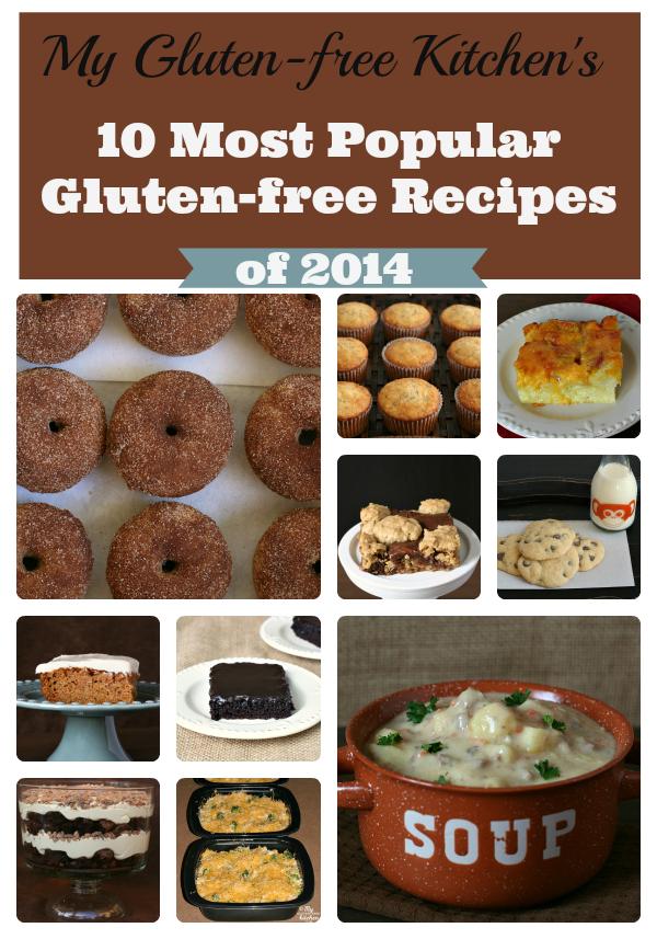 10 Most Popular Gluten-free Recipes of 2014 from My Gluten-free Kitchen