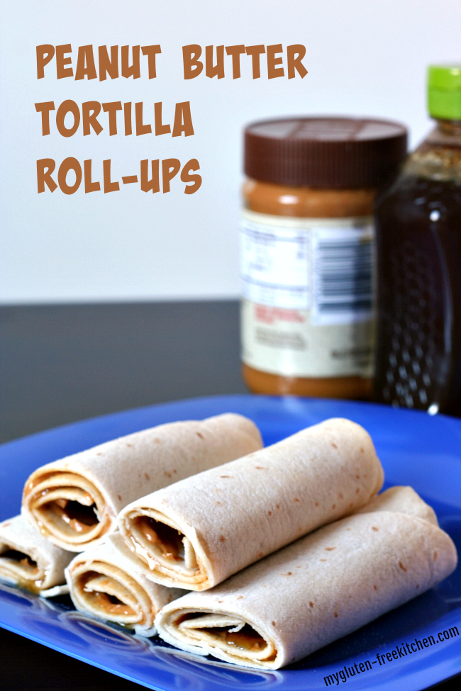 Peanut Butter Tortilla Roll-ups