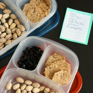 Healthy Gluten-free, Dairy-free Snack Idea for the Car