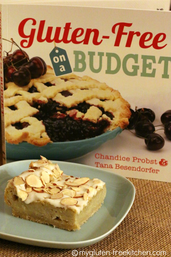 Gluten-free on a Budget cookbook review and Sweet Almond Danish recipe
