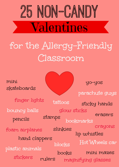 25 Non Candy Class Valentine S Ideas Allergy Friendly