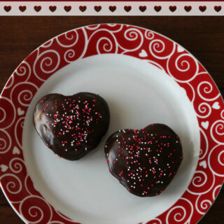 "Chocolate ""Love"" Cakes {Gluten-free} and Sweets for Your Sweeties Recipe Round-up"