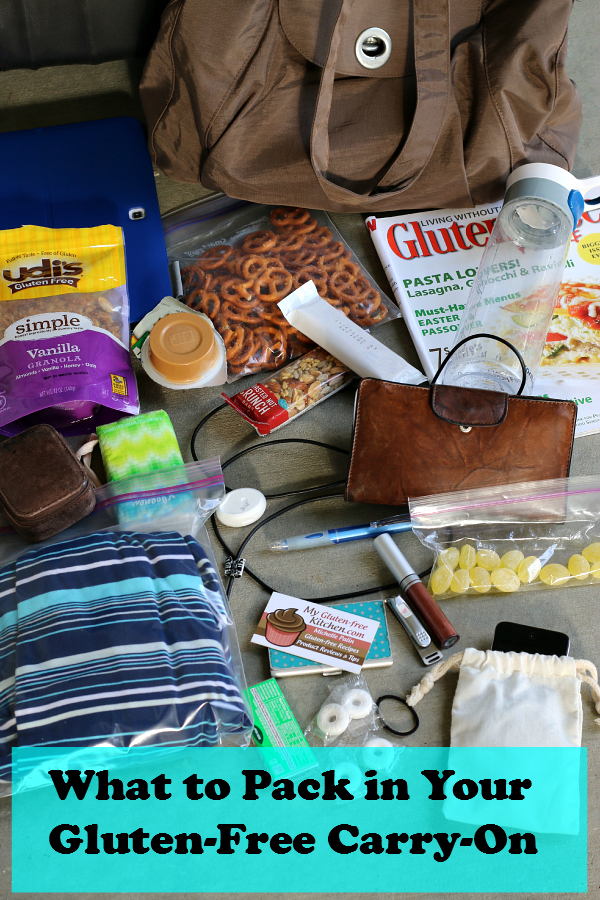 What to Pack in Your Gluten-free Carry-on Bag for Travel
