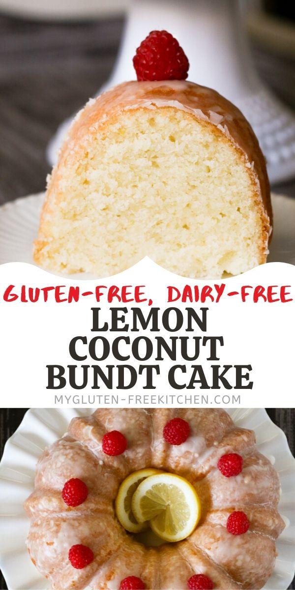 gluten-free lemon coconut cake