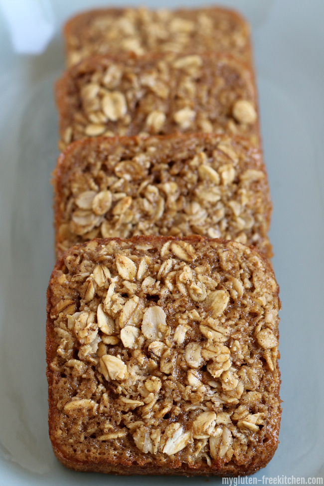 Gluten-free Oatmeal Squares Maple Brown Sugar Cinnamon