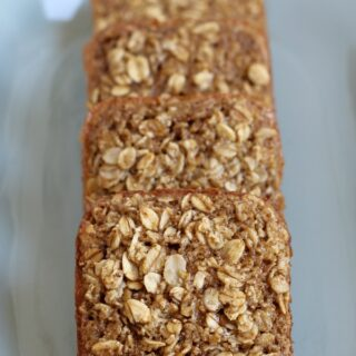Maple Brown Sugar Baked Oatmeal Squares {Gluten-free, dairy-free}
