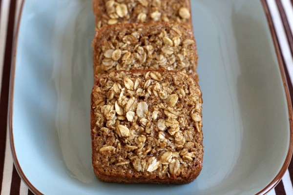 Gluten-free dairy-free Maple Brown Sugar Baked Oatmeal Squares