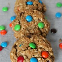 Monster Cookies {Gluten-free}