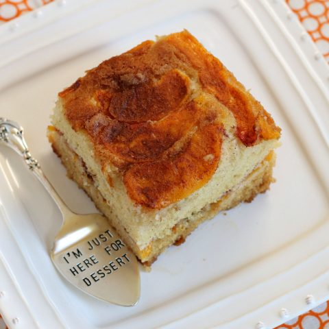 The Best Gluten-free Peach Cake