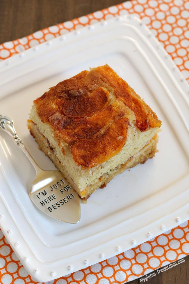 Gluten-free Peach Cake Recipe