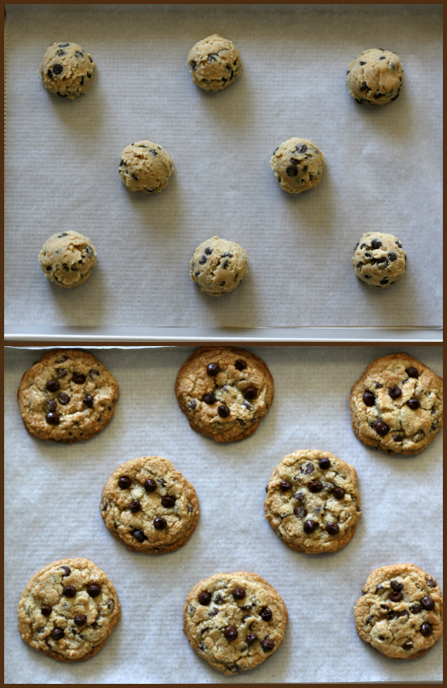 Baking gluten-free chocolate chip cookies
