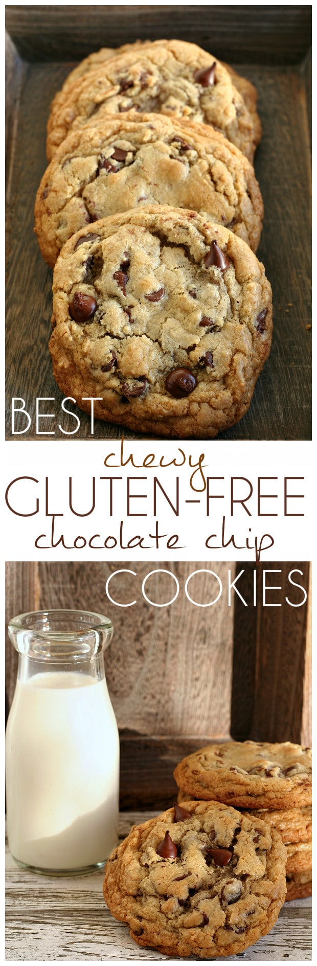 Best Chewy Gluten-Free Chocolate Chip Cookies - Recipe perfected after more than 3 dozen attempts!