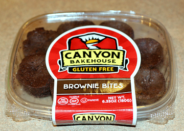 Canyon Bakehouse Brownie Bites - These make a great mix-in for ice cream