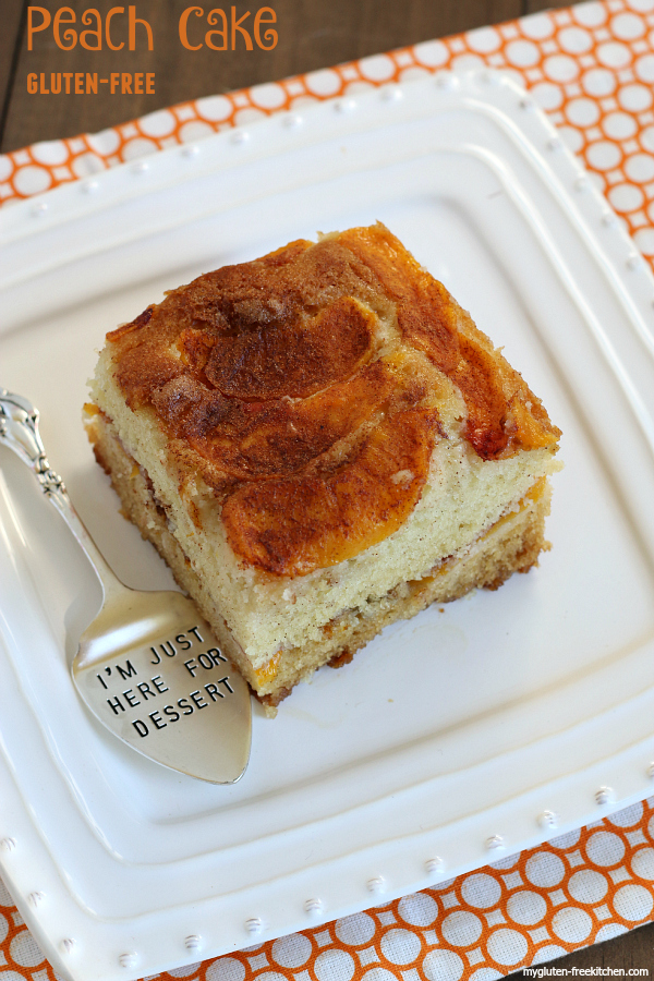 The Best Gluten-free Peach Cake. Hands down, my favorite way to use fresh peaches!