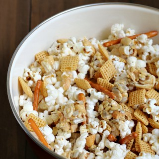 Sweet and Salty Nutty Snack Mix {Gluten-free}