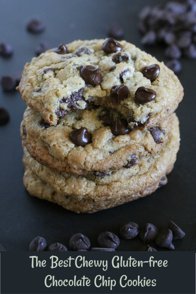 The Best Chewy Gluten-free Chocolate Chip Cookies Recipe. Tried and true favorite!