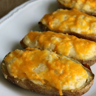Twice Baked Potatoes {Gluten-free}