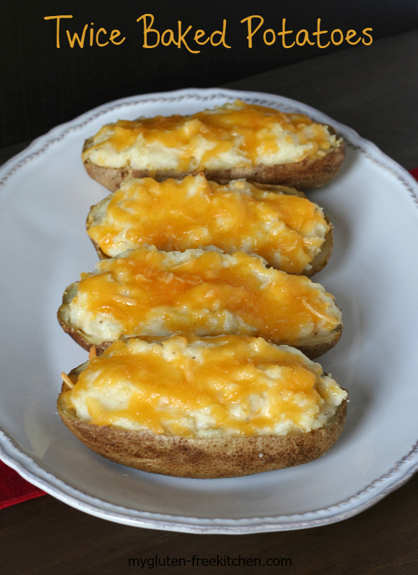 Twice Baked Potatoes - Favorite gluten-free side dish recipe for holiday dinners!