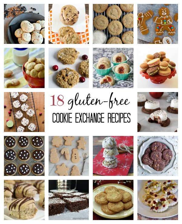 18 Gluten-free Cookie Exchange Recipes - Fun and easy recipes for neighbor gifts or holiday parties!
