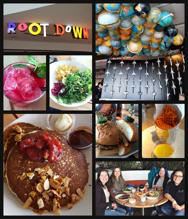 Root Down in Denver - great gluten-free food. Location in Denver and in Denver International Airport.