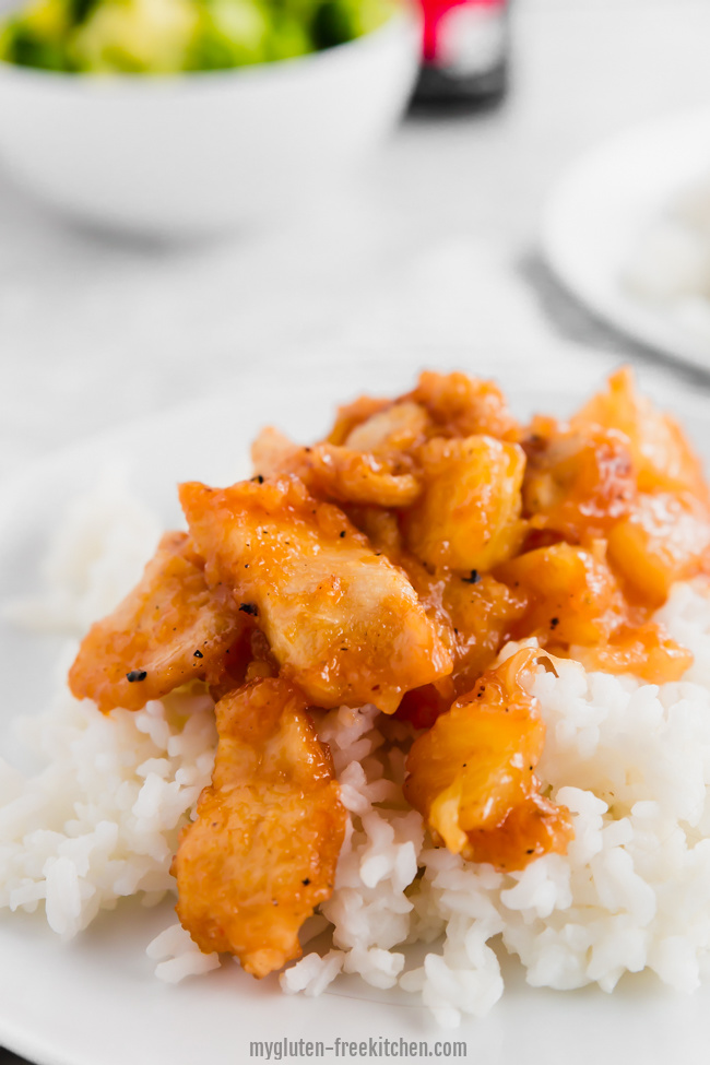 Sweet And Sour Chicken Gluten Free