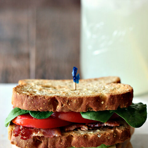 Gluten-free California Club Sandwich - Recipe for this classic diner-style sandwich, made gluten-free.