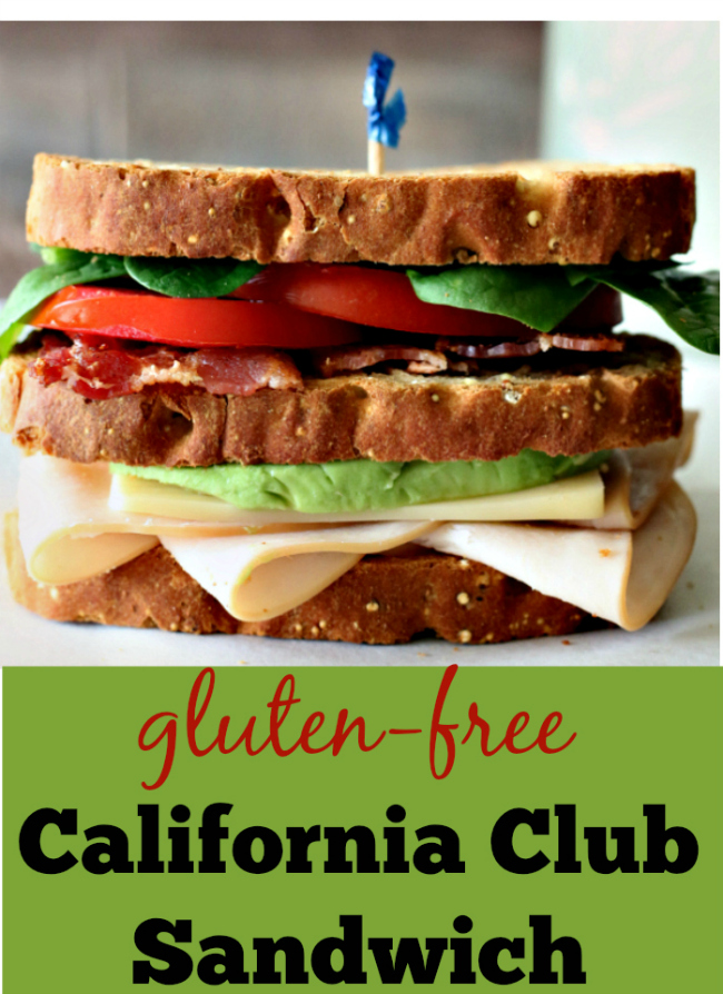 Gluten-free Club Sandwich Recipe