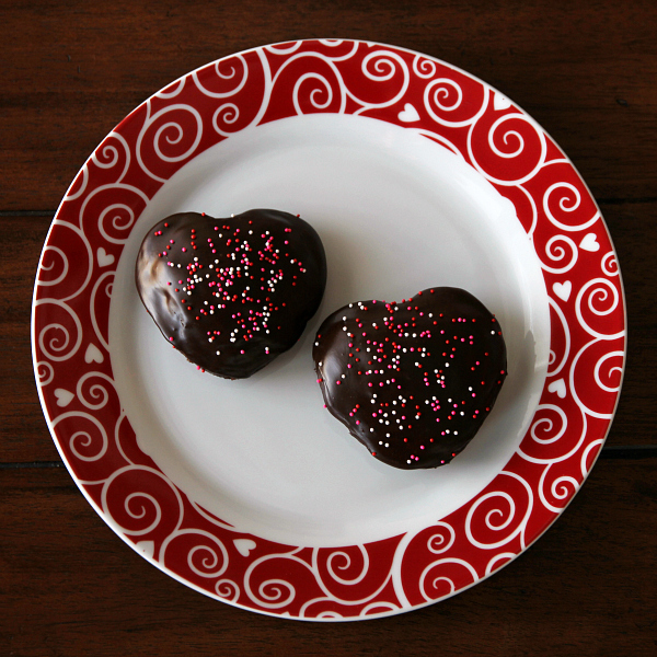 Gluten-free Chocolate LOVE Cakes - yummy treat for Valentine's Day or anytime!