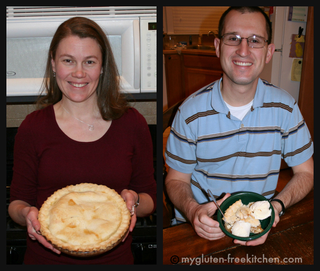 Our first gluten-free pie