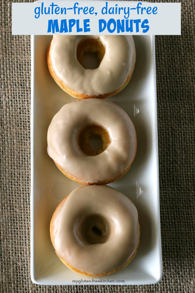 Gluten-free Maple Donuts Recipe