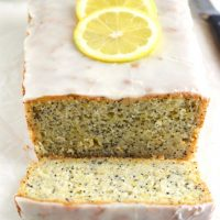 Gluten Free Lemon poppyseed bread What the Fork Food Blog