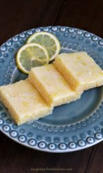 Gluten-free Lemonies - Like brownies, but with lemon instead! I could eat the glaze with a spoon!