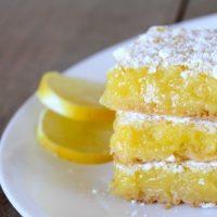 Lemon Bars by Frugal Farm Wife