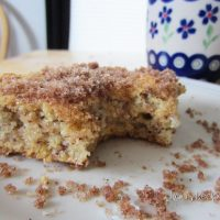 Lightly Lemon Coffe Cake by Raias Recipes