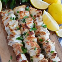 Lemon-Garlic-Chicken-Skewers What the Fork Food Blog YES
