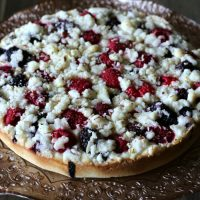 Gluten-free Triple Berry Coffee Cake