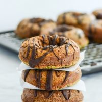 Gluten-Free-Baked-Zucchini-Chocolate-Donuts-by A Healthy Life for Me