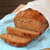 Gluten Free Zucchini Bread by Faithfully Gluten Free